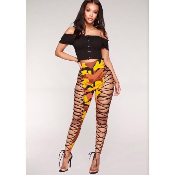 a4c072f6b0c4d Fashion Nova Pants | Camo | Poshmark